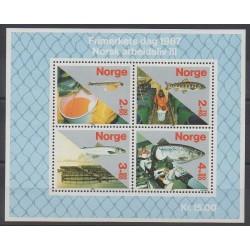 Norvège - 1987 - No BF8 - Artisanat ou métiers - Philatélie