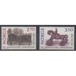 Norvège - 1987 - No 927/928 - Art