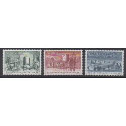 Norvège - 1988 - No 949/951 - Histoire militaire