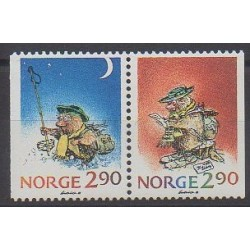 Norway - 1988 - Nb 964/965 - Christmas - Cartoons - Comics
