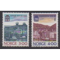 Norvège - 1989 - No 972/973 - Sites