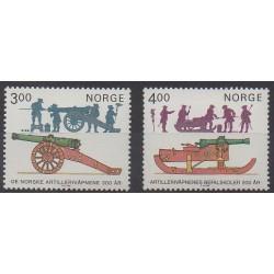 Norvège - 1985 - No 877/878 - Histoire militaire