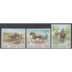 Finland - 1994 - Nb 1211/1213 - Horses
