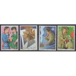 Malta - 1993 - Nb 889/892 - Scouts