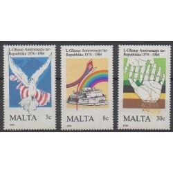 Malta - 1984 - Nb 697/699 - Various Historics Themes