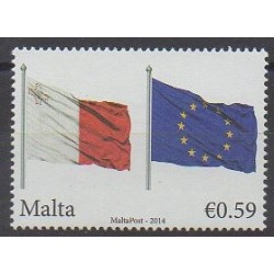 Malte - 2014 - No 1777 - Drapeaux - Europe