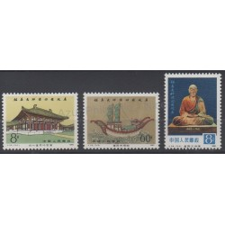 Chine - 1980 - No 2329/2331 - Monuments
