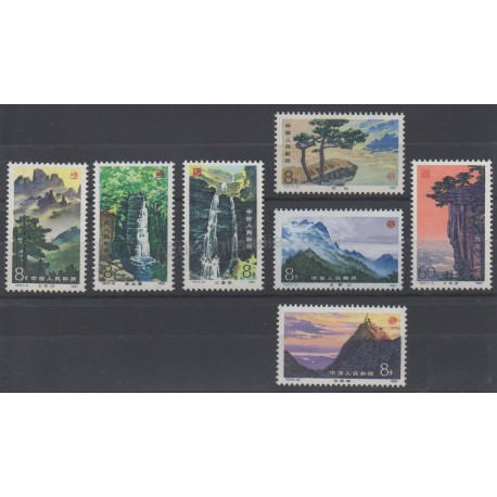 China - 1981 - Nb 2442/2448 - Sites