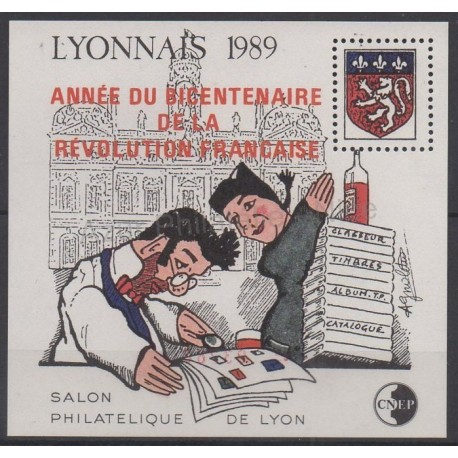 France - Feuillets CNEP - 1989 - No CNEP 11 - Histoire