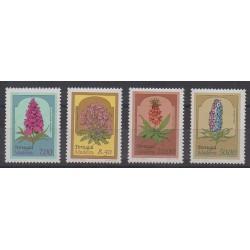 Portugal (Madère) - 1981 - No 78/81 - Fleurs