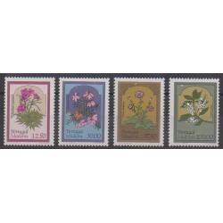Portugal (Madère) - 1983 - No 91/94 - Fleurs