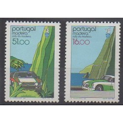 Portugal (Madeira) - 1984 - Nb 96/97 - Cars