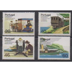 Portugal (Madeira) - 1985 - Nb 105/108 - Transport