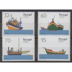 Portugal (Madeira) - 1990 - Nb 146/149 - Boats