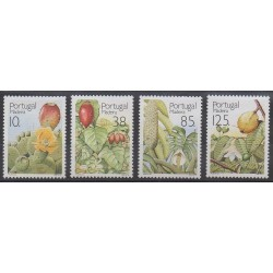 Portugal (Madeira) - 1992 - Nb 160/163 - Fruits or vegetables