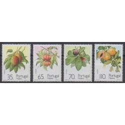 Portugal (Madère) - 1991 - No 156/159 - Fruits ou légumes