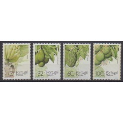 Portugal (Madeira) - 1990 - Nb 142/145 - Fruits or vegetables