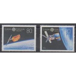 Portugal (Madère) - 1991 - No 154/155 - Espace - Europa