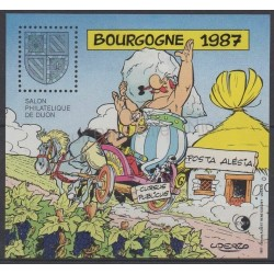 France - CNEP Sheets - 1987 - Nb CNEP 8 - Cartoons - Comics