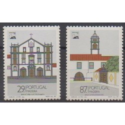 Portugal (Madeira) - 1989 - Nb 134/135 - Churches