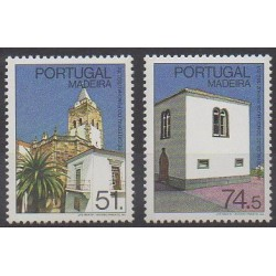 Portugal (Madeira) - 1987 - Nb 121/122 - Churches