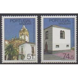 Portugal (Madère) - 1987 - No 121/122 - Églises