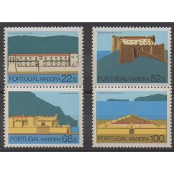 Portugal (Madeira) - 1986 - Nb 112/115 - Castles