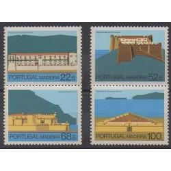 Portugal (Madère) - 1986 - No 112/115 - Châteaux