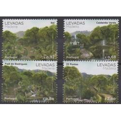 Portugal (Madère) - 2012 - No 325/328 - Parcs et jardins