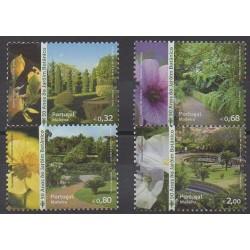 Portugal (Madeira) - 2010 - Nb 307/310 - Parks and gardens