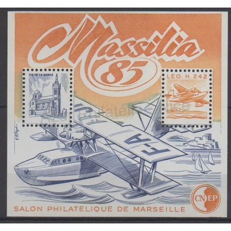 France - CNEP Sheets - 1985 - Nb CNEP 6 - Planes