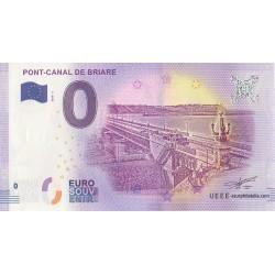 Euro banknote memory - 45 - Pont-Canal de Briare - 2018-1