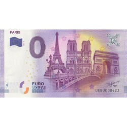 Billet souvenir - Paris - 2017-3 - No 423