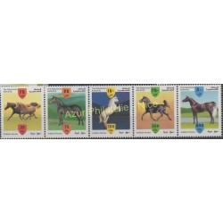 Palestine - 1999 - Nb 95/99 - Horses