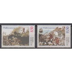 Portugal (Açores) - 1981 - No 332/333 - Histoire militaire