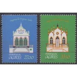 Portugal (Açores) - 1982 - No 343/344 - Architecture