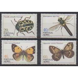 Portugal (Açores) - 1985 - No 358/361 - Insectes