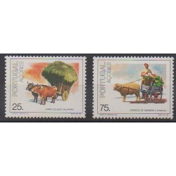 Portugal (Açores) - 1986 - No 370/371 - Transports