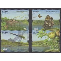 Portugal (Açores) - 2009 - No 542/545 - Insectes