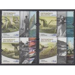 Portugal (Açores) - 2011 - No 561/564 - Artisanat ou métiers - Navigation