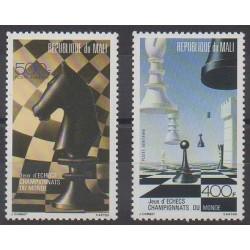 Mali - 1986 - No PA515/PA516 - Échecs