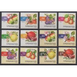 Tadjikistan - 2005 - No 270/281 - Fruits ou légumes