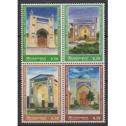 Tajikistan - 2002 - Nb 155/158 - Monuments