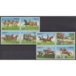 Tajikistan - 2002 - Nb 159/166 - Horses