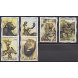 Tadjikistan - 2002 - No 149/154 - Mammifères