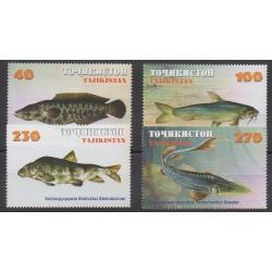 Tadjikistan - 2000 - No 131/134 - Animaux marins