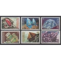 Tadjikistan - 1998 - No 116/121 - Minéraux - Pierres précieuses