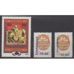 Tajikistan - 1993 - Nb 27/29