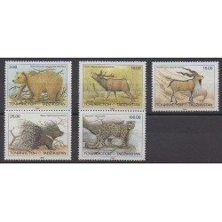 Tadjikistan - 1993 - No 12/16 - Mammifères - Espèces menacées - WWF