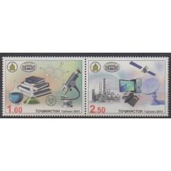 Tajikistan - 2013 - Nb 473/474 - Science